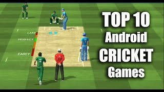 Top 10 Android Cricket Games - சிறந்த 10 Android கிரிக்கெட் கேம்ஸ்