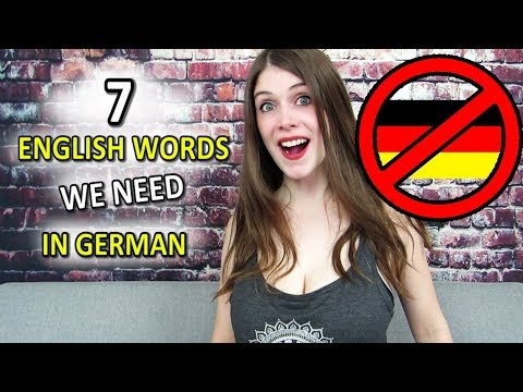 7 English Words The German Language Doesn't Have