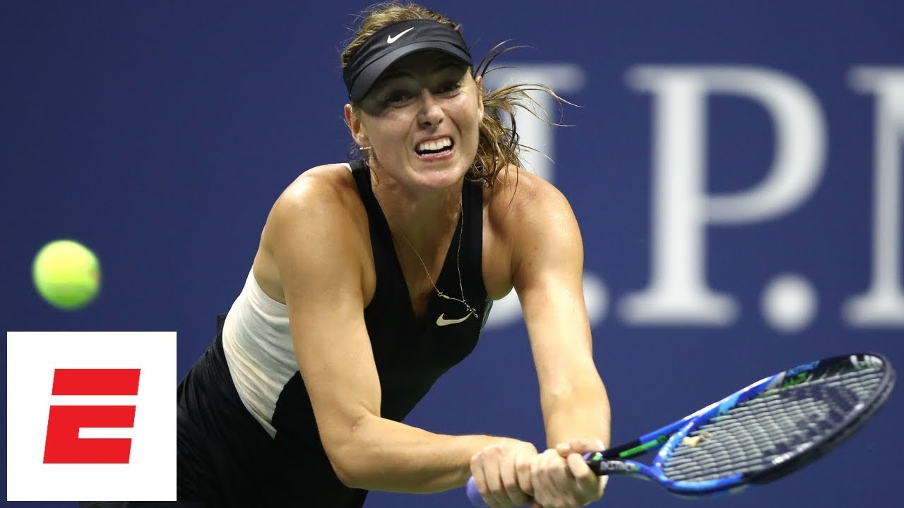 2018 US Open highlights: Maria Sharapova ousted by Carla Suárez Navarro in Round of 16 | ESPN
