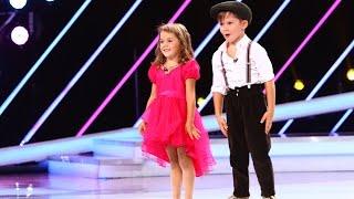 Prezentare Natalia si Matei sunt campioni la dans, la doar sase si, respectiv, cinci ani