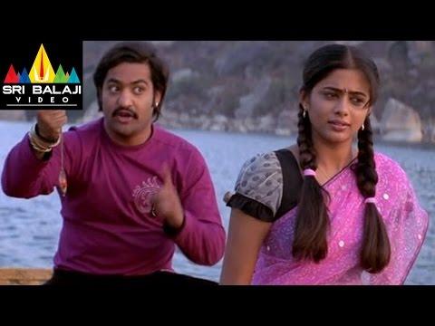 Yamadonga Movie Jr.NTR & Priyamani Scene | Sri Balaji Video