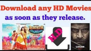 HOW TO DOWNLOAD/WATCH LATEST MOVIES