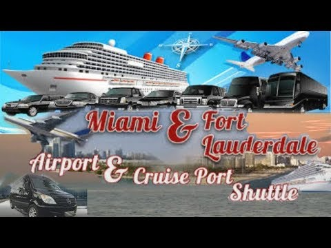 Cruise Port Shuttle: Fort Lauderdale to Miami