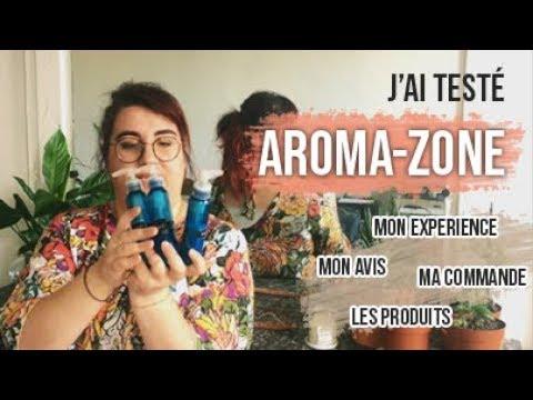 J'ai Testé : AROMA-ZONE ! 🌼 (avis, Produits, Commande...)