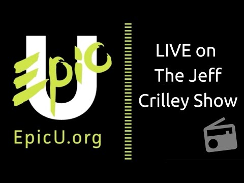 EpicU discussed live on iHeart Radio at Clear Channel on The Jeff Crilley Show