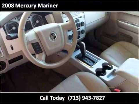 2008 mercury mariner used cars houston tx youtube. Black Bedroom Furniture Sets. Home Design Ideas