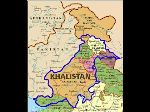 Defining the Borders of Khalistan  Buffer State in South Asia