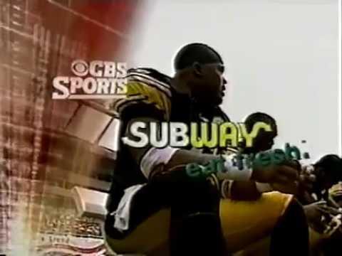 2001 NFL on CBS Promo 4