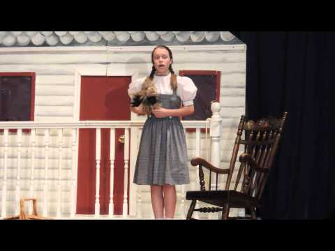 Wizard of Oz  at St John the Baptist School in MD, 2014