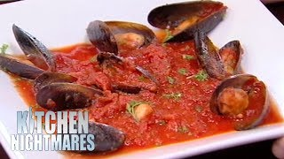 Gordon Ramsay Served The Smallest Portion Of Mussels He