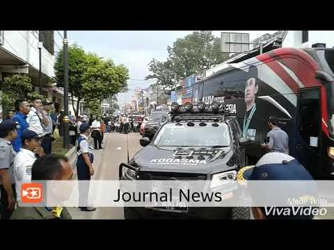 JOURNAL NEWS Kedatangan AHY Ke Cianjur Disambut Ribuan masa