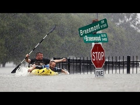 Tropical Storm Harvey Hits Houston With Catastrophic Flooding | LIVE