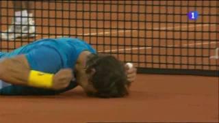 Rafa Nadal vs. Roger Federer, 6-4 7-6 (5), final Masters 1000 Madrid