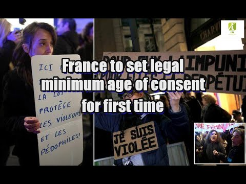 France to set legal minimum age of consent for first time