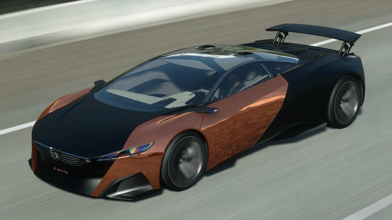 Peugeot Onyx Concept Oliver's Landing Time