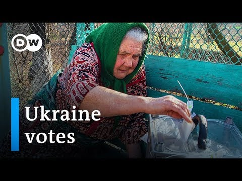 Ukraine election 2019: Comedian Zelensky favored to win | DW News