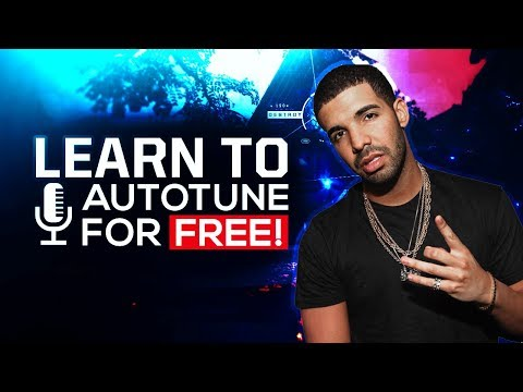 How To AUTOTUNE Your Voice For FREE! 2018 Audacity Tutorial