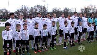 Ein entscheidender Tag – die U 19 vor dem Spiel gegen die Niederlande
