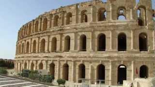 EL JEM AMPHITHEATRE , EL DJEM COLOSSEUM  - TUNISIA