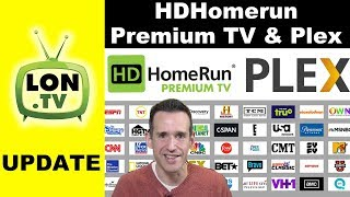 HDHomerun Premium TV Update: Plex Configuration How to