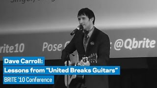 Dave Carroll Lessons from 34 United Breaks Guitars 34