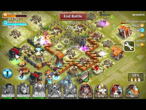 Castle Clash Hero Skill Hack
