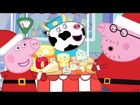 Peppa Pig Official Channel 🎄Peppa at Christmas Market🎄