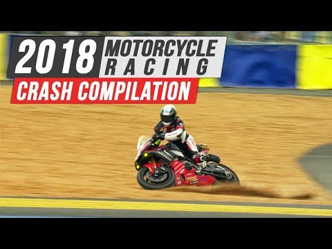 2018 Motorcycle Racing Crash Compilation #1