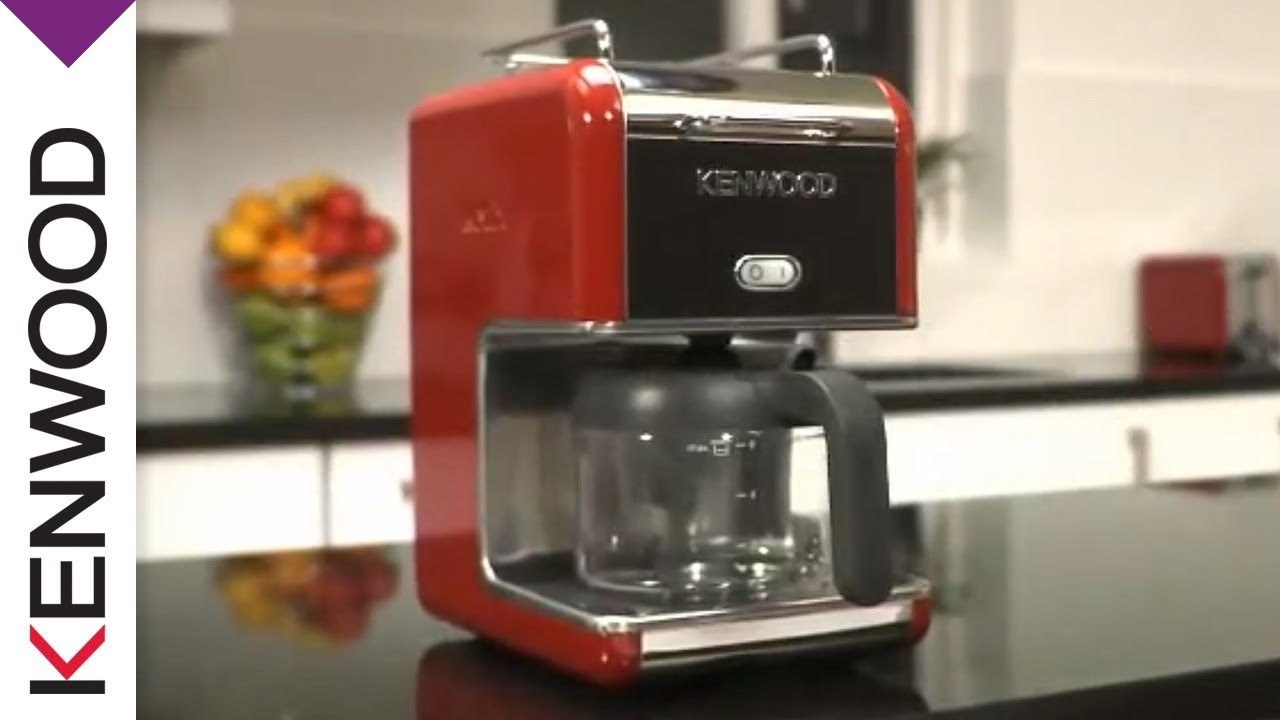 Kenwood kMix Raspberry Red Coffee Maker Product Features - YouTube