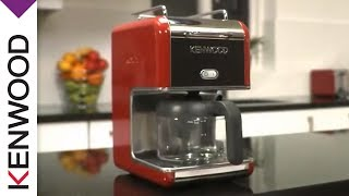 Kenwood Kmix 'raspberry Red' Coffee Maker | Product Features