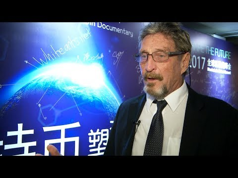 John McAfee on easing fear from government regulation of cryptocurrencies