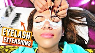 Getting EYELASH EXTENSIONS! ...ahh (Getting vacation ready)