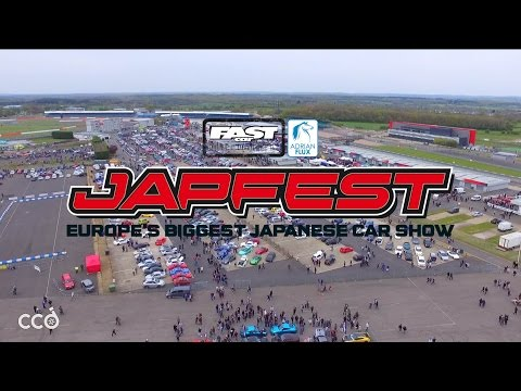 JAPFEST! 2017 at Silverstone [CAR SHOW] Fast Car Magazine