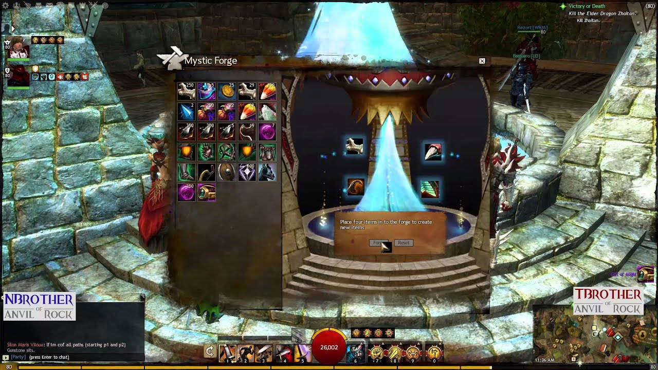 Guild Wars 2 - HD   Crafting Twilight and Sunrise   Gift of Might ...