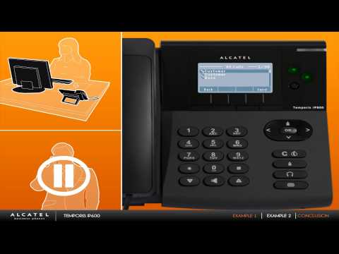 Alcatel Temporis IP 600 (english)