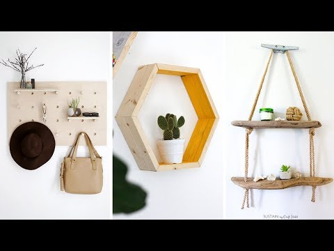 10 DIY Hanging Organizer Ideas And Solutions