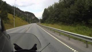road2view - Norway - E6 along lake Mjøsa