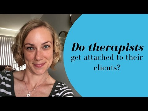 Do therapists get attached to their clients?