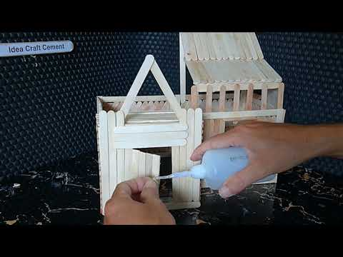 Making a Two-story House with an Ice Cream Stick