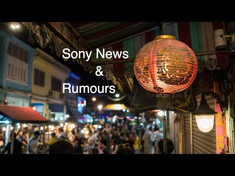 Sony News & Rumours live show Sony a7III Global shutter Tamron 28-75mm 2.8 Toking 20mm f2 A7RIII