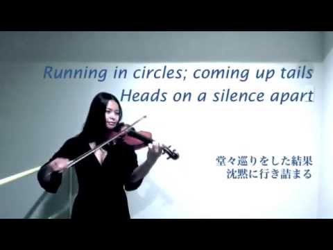 The Scientist Coldplay ~ Shiki Violin Karaoke with Japanese translation