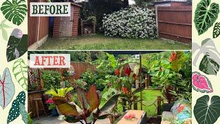 My Garden Transformation 🏝🌺🍍 2017-2020