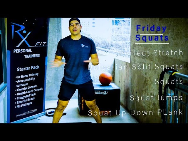 Butt/Squats - Exercise Bands - 5 Minute Move - Friday