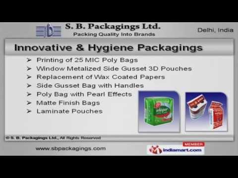 Flexible Packaging Material by S. B. Packagings Ltd., New Delhi