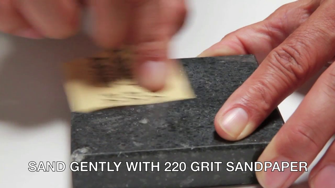How To Repair Chip In Granite Marble Corian Porcelain And More Diy Kit