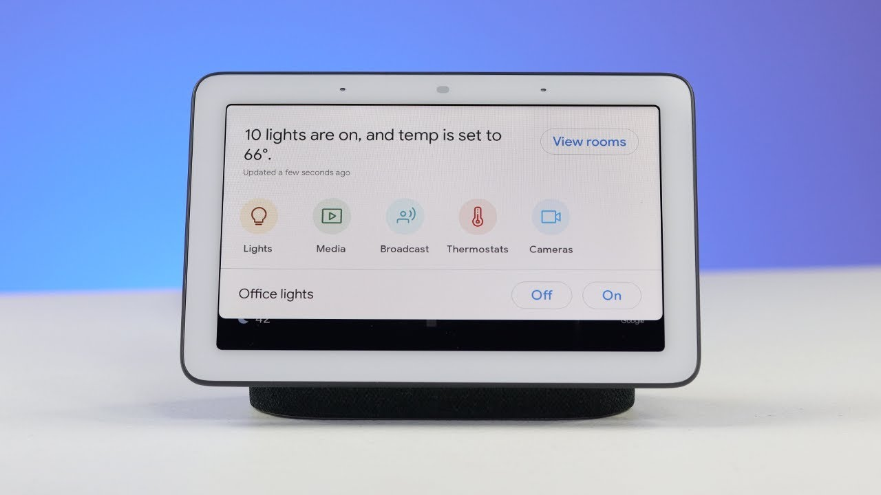 Google Home Hub Setup & Home View Walkthrough