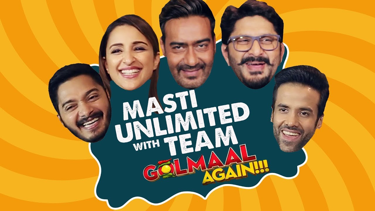 Golmaal Again: Not an interview | Ajay Devgn | Parineeti Chopra | Arshad Warsi | Pinkvilla