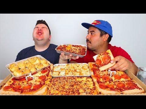 Pizza Hut Dinner Box • MUKBANG