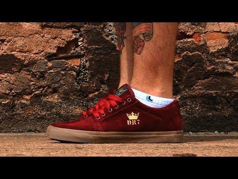 Tênis DR7 King Vinho/Caramelo | Willian Radical Skate Shop