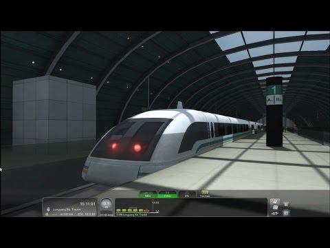 Train Simulator 2016 HD: Shanghai Maglev Transrapid Round Trip Cab Ride 430 km/h (2/23/16)